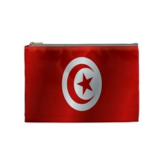 Flag Of Tunisia Cosmetic Bag (Medium)