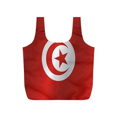 Flag Of Tunisia Full Print Recycle Bags (S)