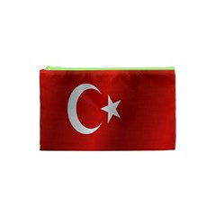 Flag Of Turkey Cosmetic Bag (XS)