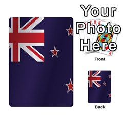 Flag Of New Zealand Multi-purpose Cards (Rectangle)