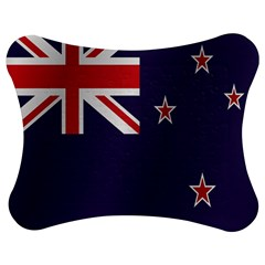 Flag Of New Zealand Jigsaw Puzzle Photo Stand (Bow)