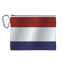 Flag Of Netherlands Canvas Cosmetic Bag (L)