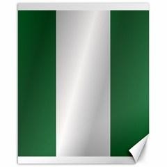 Flag Of Nigeria Canvas 16  x 20