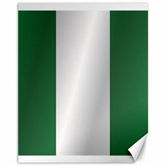 Flag Of Nigeria Canvas 11  x 14
