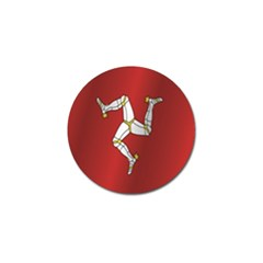 Flag Of Isle Of Man Golf Ball Marker (10 pack)
