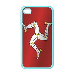 Flag Of Isle Of Man Apple iPhone 4 Case (Color)