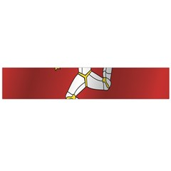 Flag Of Isle Of Man Flano Scarf (Large)