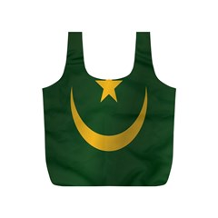 Flag Of Mauritania Full Print Recycle Bags (S)