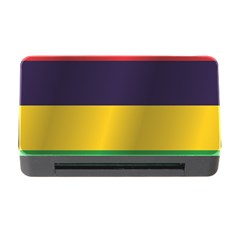 Flag Of Mauritius Memory Card Reader with CF