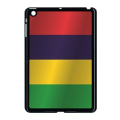Flag Of Mauritius Apple iPad Mini Case (Black)