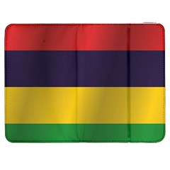 Flag Of Mauritius Samsung Galaxy Tab 7  P1000 Flip Case