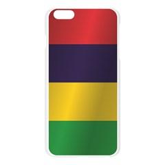 Flag Of Mauritius Apple Seamless iPhone 6 Plus/6S Plus Case (Transparent)