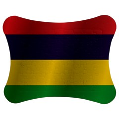 Flag Of Mauritius Jigsaw Puzzle Photo Stand (Bow)