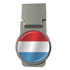 Flag Of Luxembourg Money Clips (Round)
