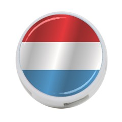 Flag Of Luxembourg 4-Port USB Hub (Two Sides)