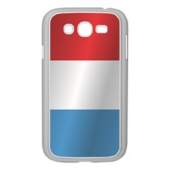Flag Of Luxembourg Samsung Galaxy Grand DUOS I9082 Case (White)