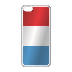 Flag Of Luxembourg Apple iPhone 5C Seamless Case (White)