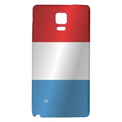 Flag Of Luxembourg Galaxy Note 4 Back Case