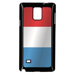 Flag Of Luxembourg Samsung Galaxy Note 4 Case (Black)