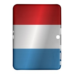 Flag Of Luxembourg Samsung Galaxy Tab 4 (10.1 ) Hardshell Case
