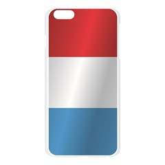 Flag Of Luxembourg Apple Seamless iPhone 6 Plus/6S Plus Case (Transparent)