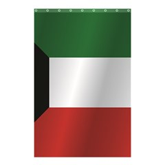 Flag Of Kuwait Shower Curtain 48  x 72  (Small)