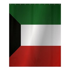 Flag Of Kuwait Shower Curtain 60  x 72  (Medium)