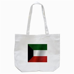 Flag Of Kuwait Tote Bag (White)
