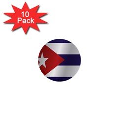 Flag Of Cuba 1  Mini Buttons (10 pack)