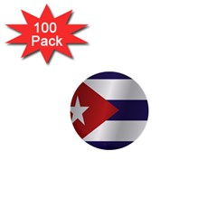 Flag Of Cuba 1  Mini Buttons (100 pack)