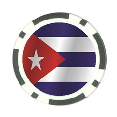 Flag Of Cuba Poker Chip Card Guards