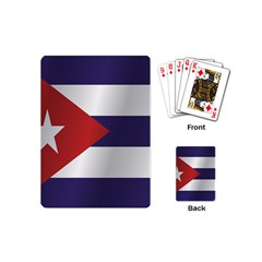 Flag Of Cuba Playing Cards (Mini)