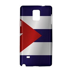Flag Of Cuba Samsung Galaxy Note 4 Hardshell Case