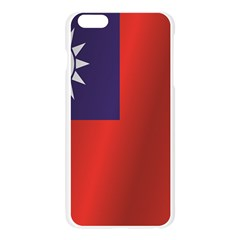 Flag Of Taiwan Apple Seamless iPhone 6 Plus/6S Plus Case (Transparent)