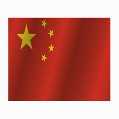 Flag Of China Small Glasses Cloth (2-Side)