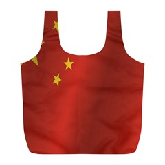Flag Of China Full Print Recycle Bags (L)