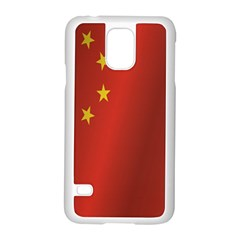Flag Of China Samsung Galaxy S5 Case (White)