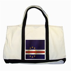 Flag Of Cape Verde Two Tone Tote Bag