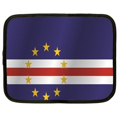 Flag Of Cape Verde Netbook Case (XXL)