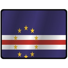 Flag Of Cape Verde Fleece Blanket (Large)