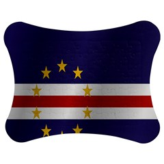 Flag Of Cape Verde Jigsaw Puzzle Photo Stand (Bow)