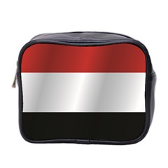 Flag Of Yemen Mini Toiletries Bag 2-Side