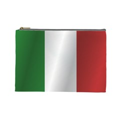 Flag Of Italy Cosmetic Bag (Large)