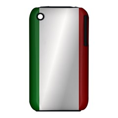 Flag Of Italy Apple iPhone 3G/3GS Hardshell Case (PC+Silicone)