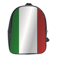 Flag Of Italy School Bags (XL)