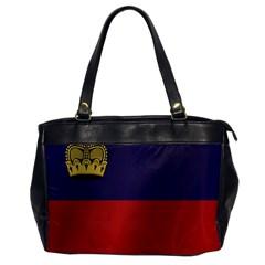 Flag Of Liechtenstein Office Handbags