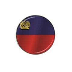 Flag Of Liechtenstein Hat Clip Ball Marker (4 pack)