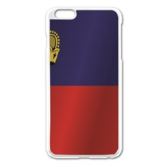 Flag Of Liechtenstein Apple iPhone 6 Plus/6S Plus Enamel White Case