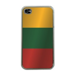 Flag Of Lithuania Apple iPhone 4 Case (Clear)