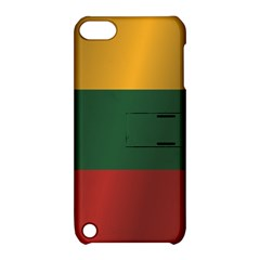 Flag Of Lithuania Apple iPod Touch 5 Hardshell Case with Stand
